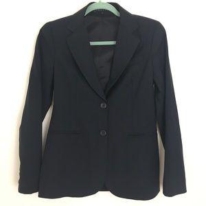 Theory navy wool blazer 4